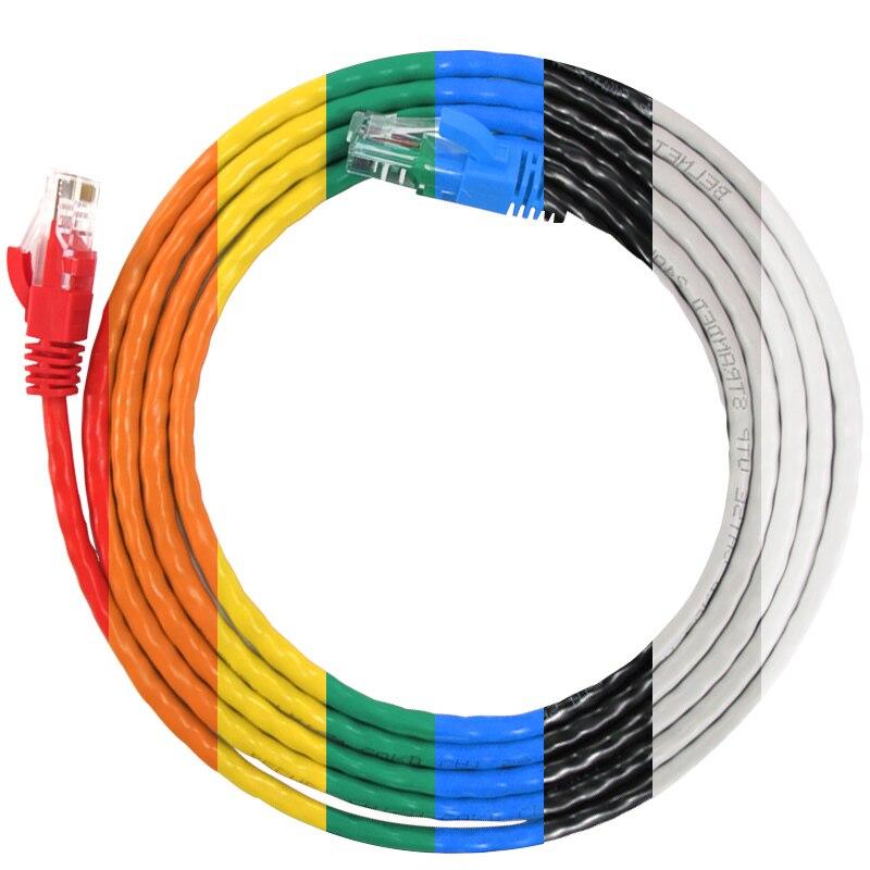 RJ45 CAT5EケーブルインターネットCAT5イーサネットインターネットネットワークパッチLANケーブルコードイーサネットケーブル