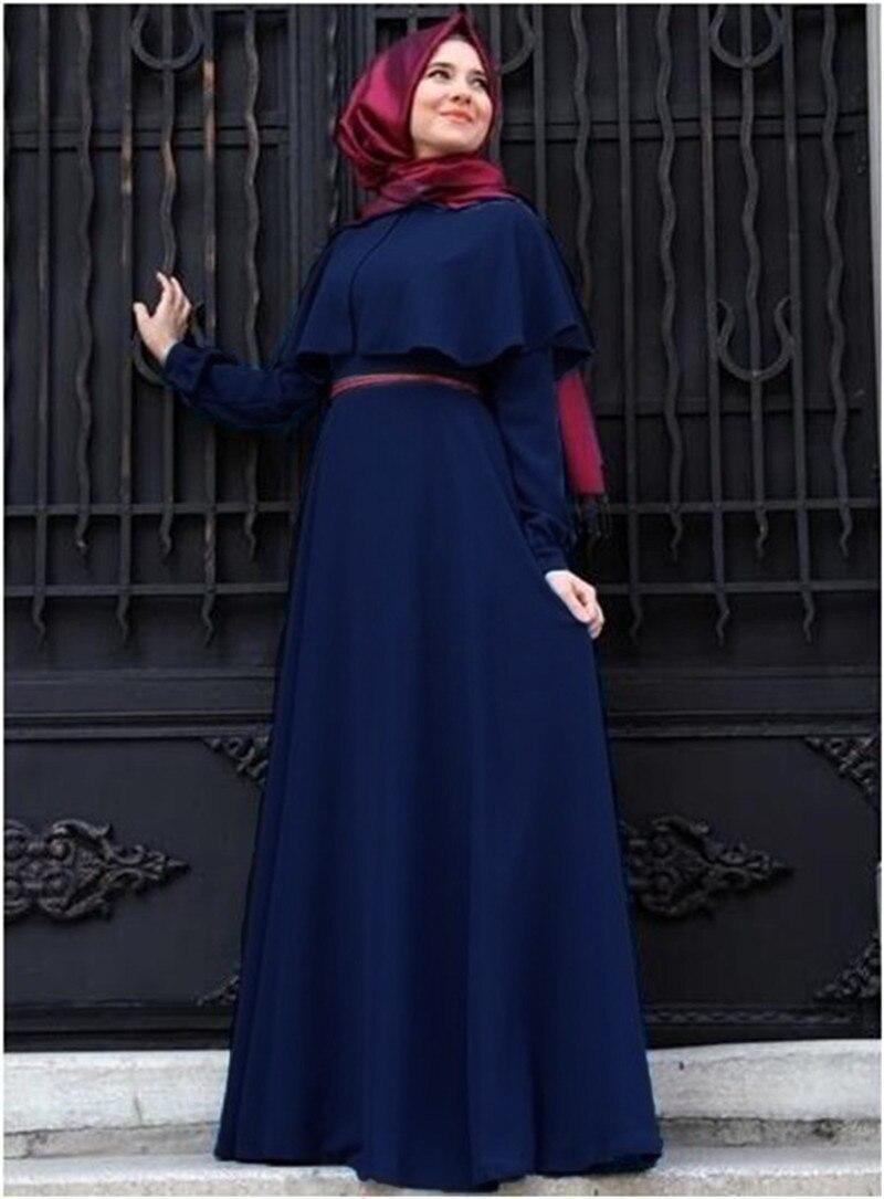 Плащ большой размер Абая платье кимоно широкая одежда Восточной