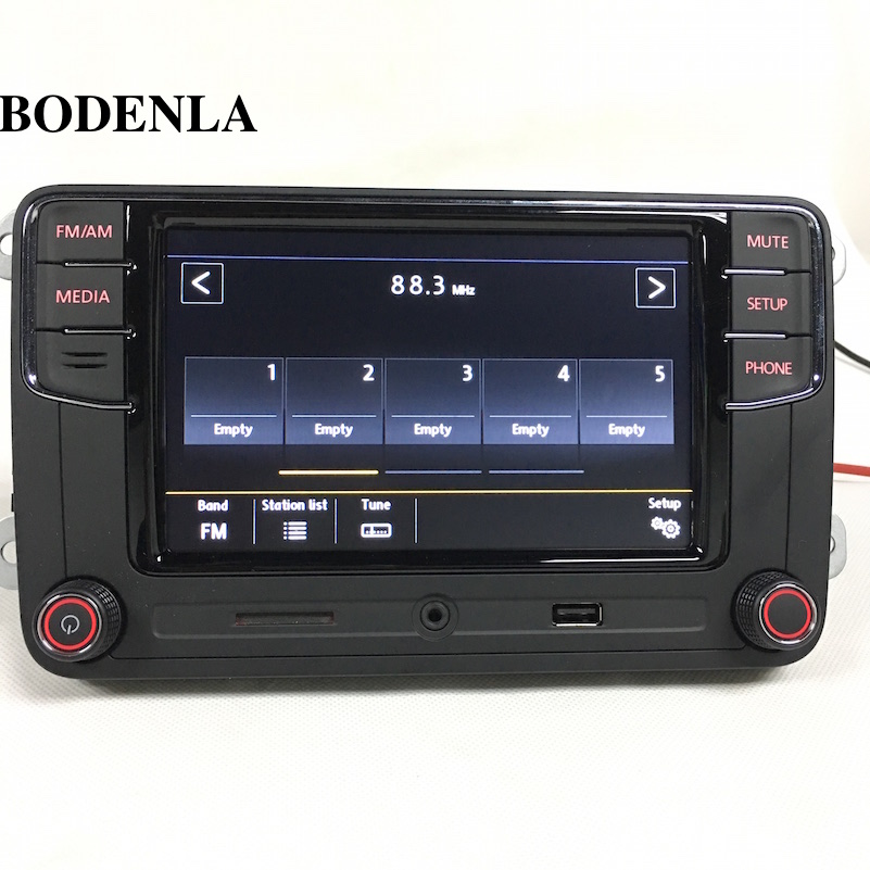 bodenla rcd330 plus 6 5 mib car radio stereo mirrorlink. Black Bedroom Furniture Sets. Home Design Ideas