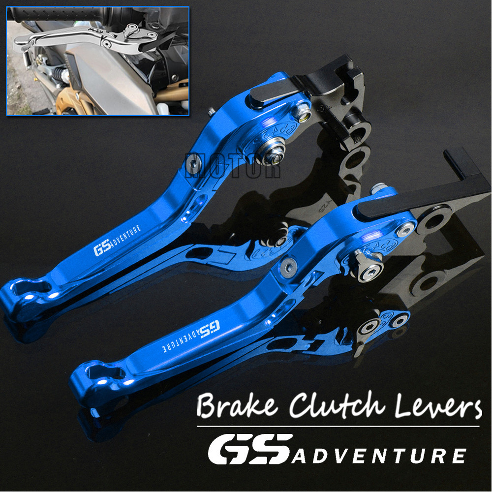 Motorcycle CNC Brake Clutch Levers For <font><b>BMW</b></font> F800GS Adventure R1200GS Adv R1200GS Adv LC Adjustable Folding Lever F 800 R <font><b>1200</b></font> <font><b>GS</b></font> image
