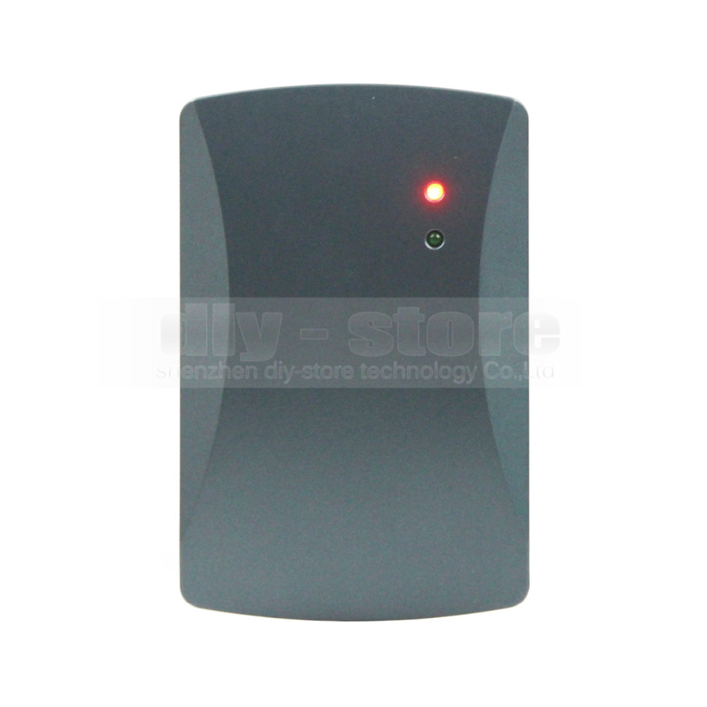 DIYSECUR Waterproof Door Access Control Reader Wiegand 26 RFID 125KHz ID Card Reader EM 4100