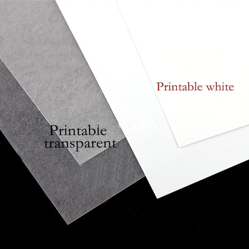 10 шт. A4 термоусадочная пленка для струйной печати, пластиковый лист, сделай сам, креативная декоративная термоусадочная пленка для печати т...