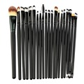 20 Pcs/set Soft Makeup Brushes Set Kit Powder Foundation Brush Eyeshadow Eyeliner Lip Brush Cosmetic Make Up Brushes Set
