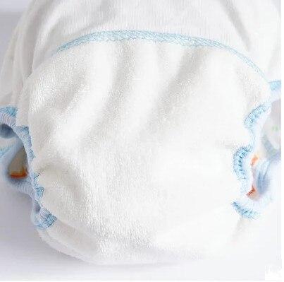1 шт., Детские хлопковые подгузники, многоразовые 4