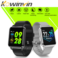 Kowinvin Q3 Smart watch Men waterproof Dynamic Blood Oxygen Pressure Pedometer fitness tracker Heart Rate smartwatch