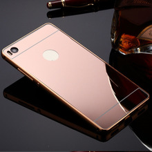 Luxury Acrylic Aluminum Metal Mirror Case For Huawei Ascend P9 P8 Lite G8 G7 Mate 8 7 S Nexus 6P G730 Y625 8816 Back Cover