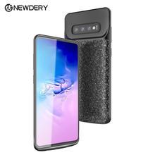 Для samsung Galaxy S10 плюс 5000 мА/ч, Батарея чехол Портативный Зарядное устройство резервного копирования зарядным футляром для S10e S10 S10Plus