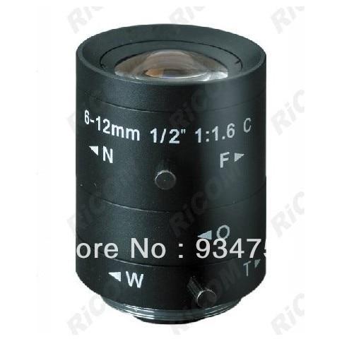 1/2 3 Megapixel C 6-12mm manual iris lens1/2 3 Megapixel C 6-12mm manual iris lens