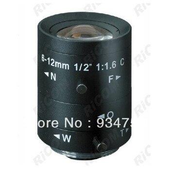 1/2 3 Megapixel C 6-12mm manual iris lens