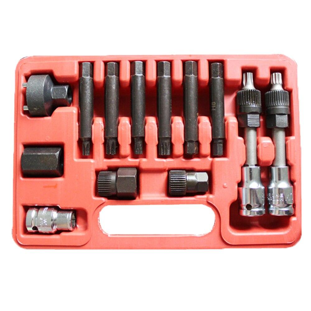 13pcs Alternator Freewheel Pulley Puller Removal Of Alternator Removal Tools