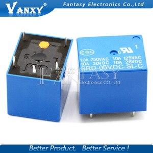 Image 5 - 5PCS/LOT Relay SRD 05VDC SL C SRD 05VDC SL SRD 05VDC SRD 05V relays 5PINS 5V DC High Quality