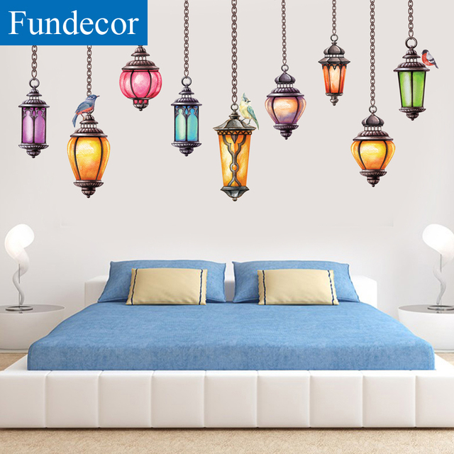 [Fundecor] DIY Retro Exotic Style Chandelier Wall Stickers Home Decor Living Rooms Sofa Background  sc 1 st  AliExpress.com & Fundecor] DIY Retro Exotic Style Chandelier Wall Stickers Home Decor ...