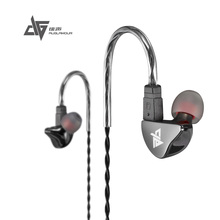 Wholesale 100% Upgraded AUGLAMOUR R8 In Ear Earphones Gold Ear Hook Metal Earphones Upgrade HIFI Earbuds DIY Headset