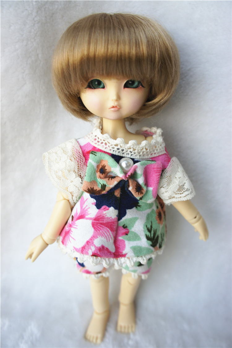 Popular JD019 BJD Doll Wigs High Quality synthetic mohair wig, Boy short cut  for tiny doll 1/8 1/2,1/3