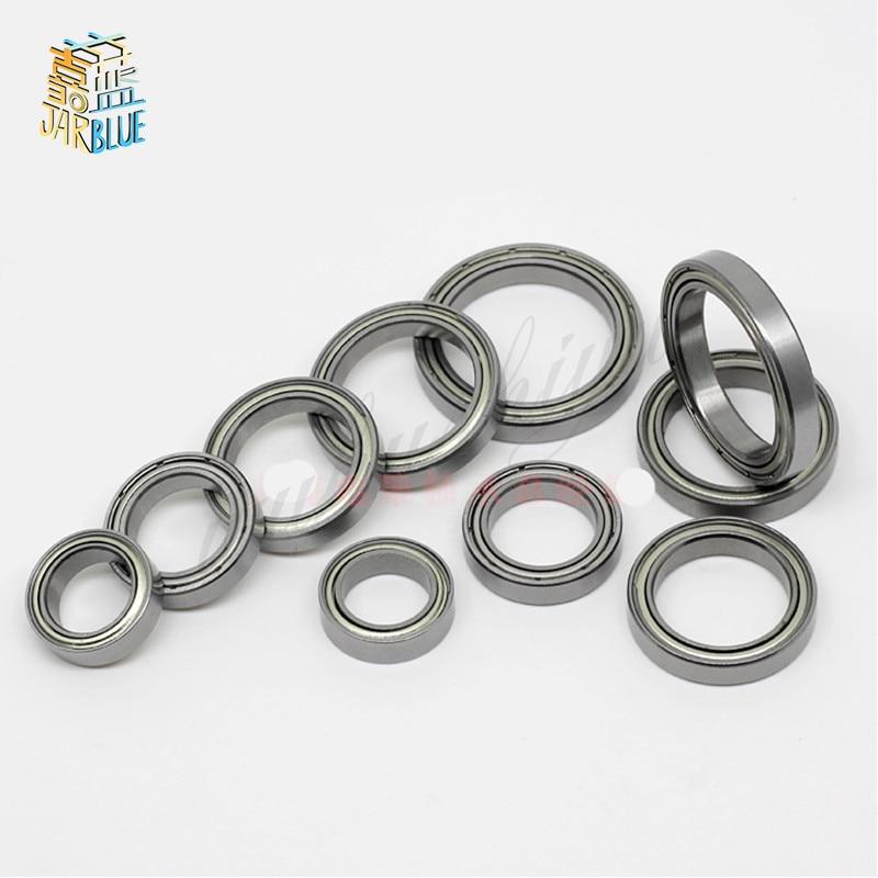 Metal Rubber Sealed Ball Bearing Bearings BLUE 6701RS 12x18x4mm 25 PCS