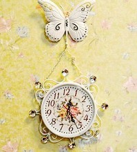 032032 wall clock in wall clocks safe modern design digital vintage large led kitchen decorative mirror Creative sitting-room