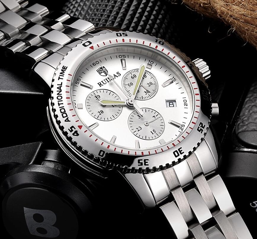 RUIMAS Swiss Watch Brands Cronógrafo Deportes Reloj de Pulsera - Relojes para hombres - foto 3