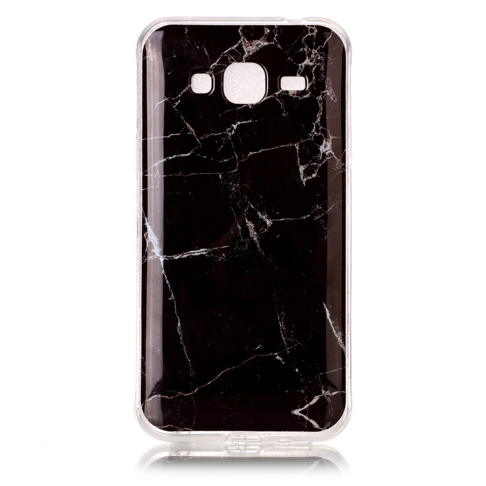 the latest 92d26 31fe1 US $2.65 |Fashion Marble Design Soft TPU Silicon Back Cover Case For  Samsung Galaxy J3 2016 J310 J320 J36-in Fitted Cases from Cellphones & ...