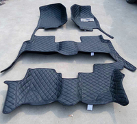 RHD 7seats 3rows full surrounded waterproof special floor mats for Right Hand Drive KIA Mohave Borrego