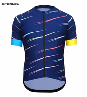2017 cool Design SPEXCEL ARROW Lightweight summer short sleeve cycling jersey Low collar Quick dry fabric top quality