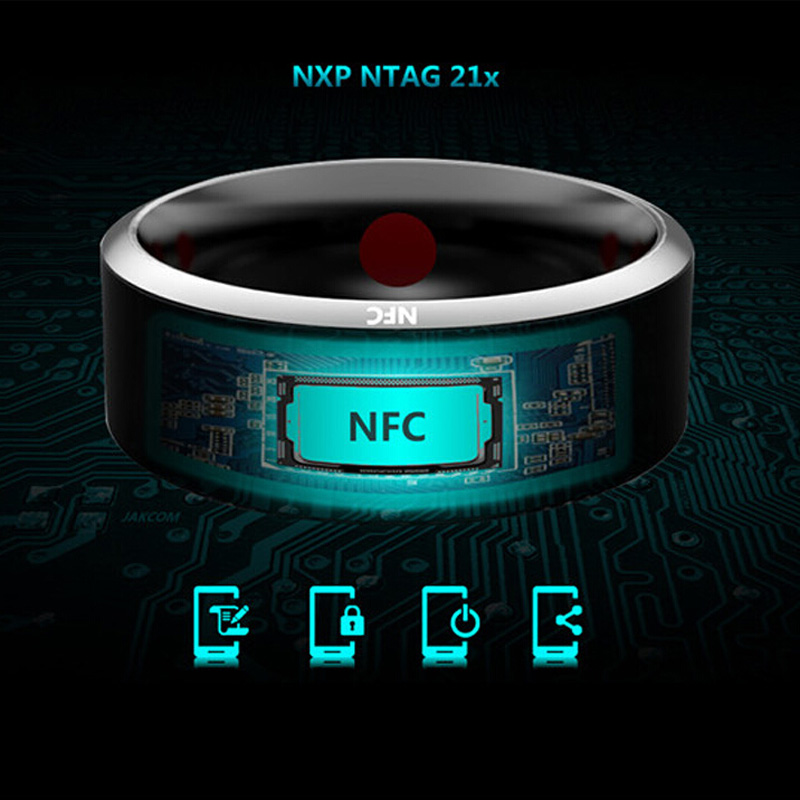 2018 NEW Jakcom R3 Waterproof Smart Ring App Enabled Wearable Technology Magic Ring For iOS Android Windows NFC Smartphones