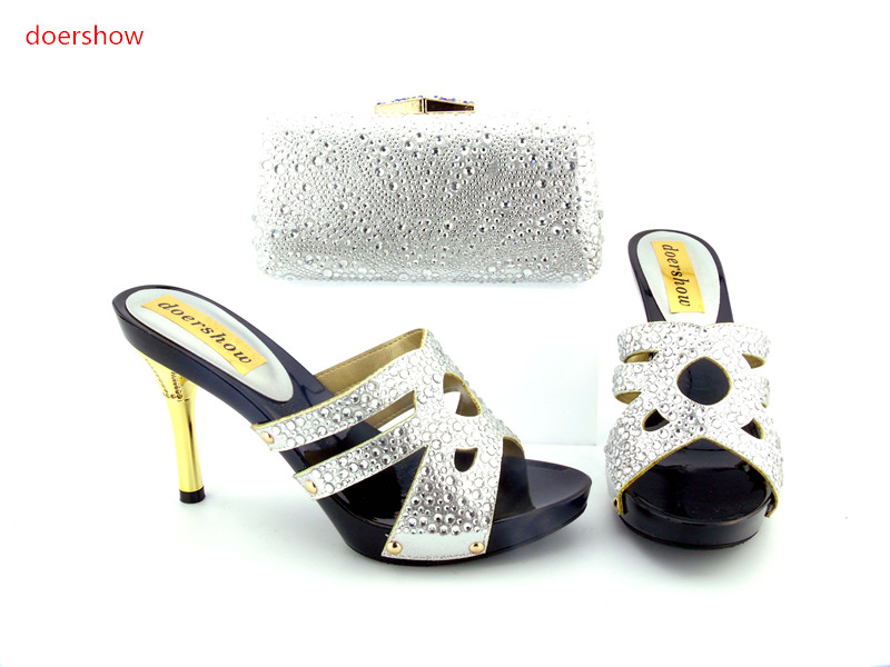 doershow Italian Shoes and Bag Set,Wholesale Price African Female Sandalias Shoes And Bag To Match For Ladies!   HH1-8 italian berlitz reference set