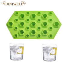 Silicone Crystal Diamonds Gem Shape Ice Cube Mold Tray Chocolate Soap Bar Party Maker Mould Jewels Resin Clay Molds Tools