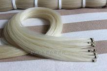 30 hanks natural white Mongolia horsetail violin &viola&cello bow hair free shipping violin parts&accesories
