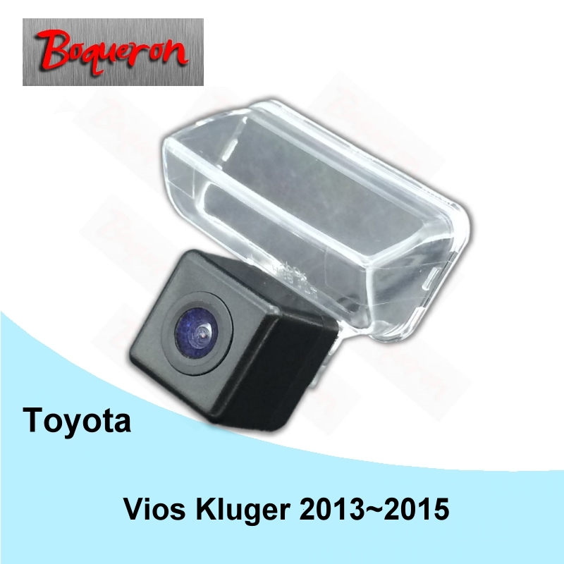 BOQUERON for Toyota Vios Kluger 2013~2015 HD CCD Waterproof Car Camera reversing backup rear view camera