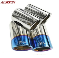 For Audi A1 A3 A4 A5 A6 Q3 Q5 High Quality Stainless Steel Car Exhaust Pipe