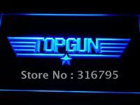 G140 Top Gun фильм логотип Бар Декор неоновый с включения/выключения 20 + Цвета 5 размеров для выберите
