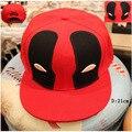 Hot Movie Deadpool Cosplay Cap Black Red Novelty cartoon Ultimate Marvel ladies dress mans Hat charms Costume Props Baseball cap