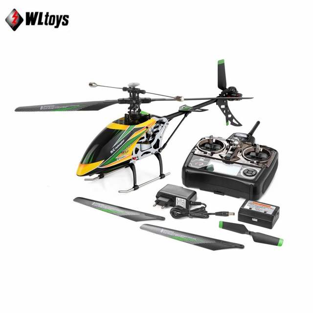 WLtoys V912 Drone Sky Dancer Aircraft 2 4GHz RTF Aeroplane 4 Channel Single  Blade RC Helicopter With Head Lamp Light tz