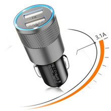 5V 2.1A Mini USB Car Charger For iPhone 7 8 6 Plus Tablet GPS Fast Car-Charger Dual 6S 5 5S Phone Adapter
