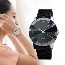 Fashion Brand Luxury Famous Quartz Sport Leather Watch  Relogio Stainless Steel Black Watches Relogio Wrist Watch Women 2017
