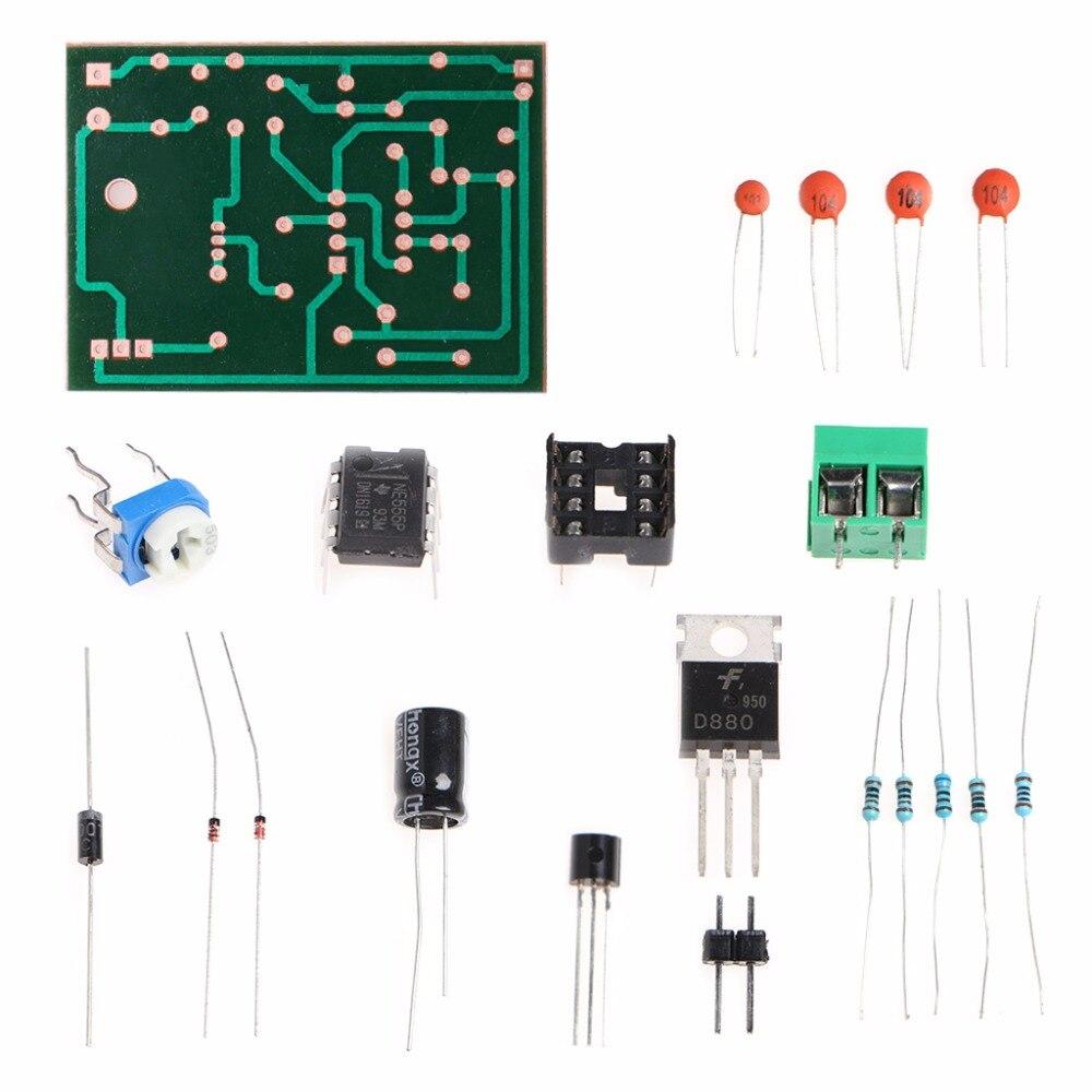 5-12V DIY Kit 555 Pulse Width Modulation Speed Regulator Controller Suite Module