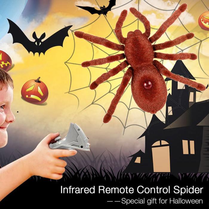 Simulação aranha brinquedo de controle remoto engraçado