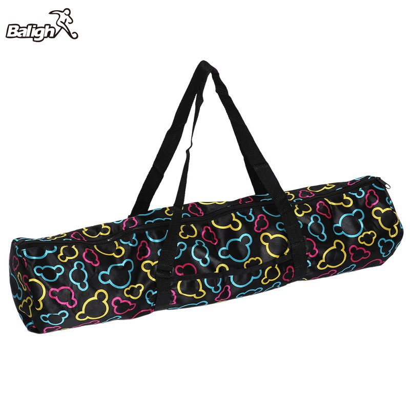 2018 Yoga Mat Bag Waterproof Backpack Shoulder Messenger Sport Clothes Duffel Bag For Women\s Fitness Gym Bag To Rank First Among Similar Products no Yoga Mat