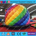 Free Shipping 2016 New Rainbow Disco Dome Inflatable Bouncer Castle with free CE Blower and carry bag
