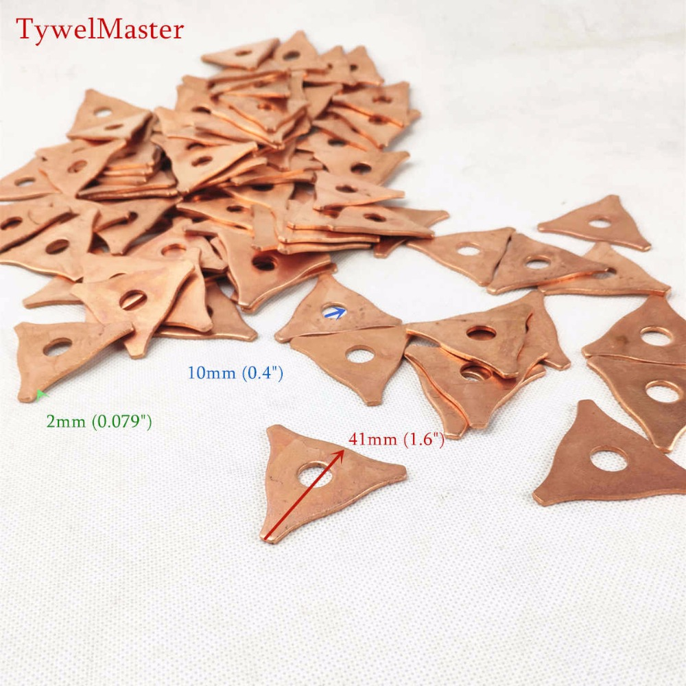 Dent Triangle Washer Meson Machine Washer Triangle Shrink Repair Spot Spot Welder Welding Pulling Garage Star Metal Pads 100pcs
