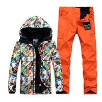 GSOU SNOW лыжный костюм мужской, горнолыжный костюм для мужчин,горнолыжные штаны,горнолыжный костюм мужской,горнолыжная куртка,сноуборд куртк