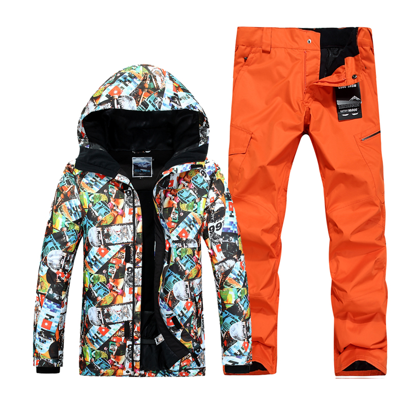 New winter ski suits for men snowboard jacket ski pants waterproof warm sport suit men skiing clothes new fashionable men s suits new dark green men suits formal business tuxedos men wedding suit jacket pants custom