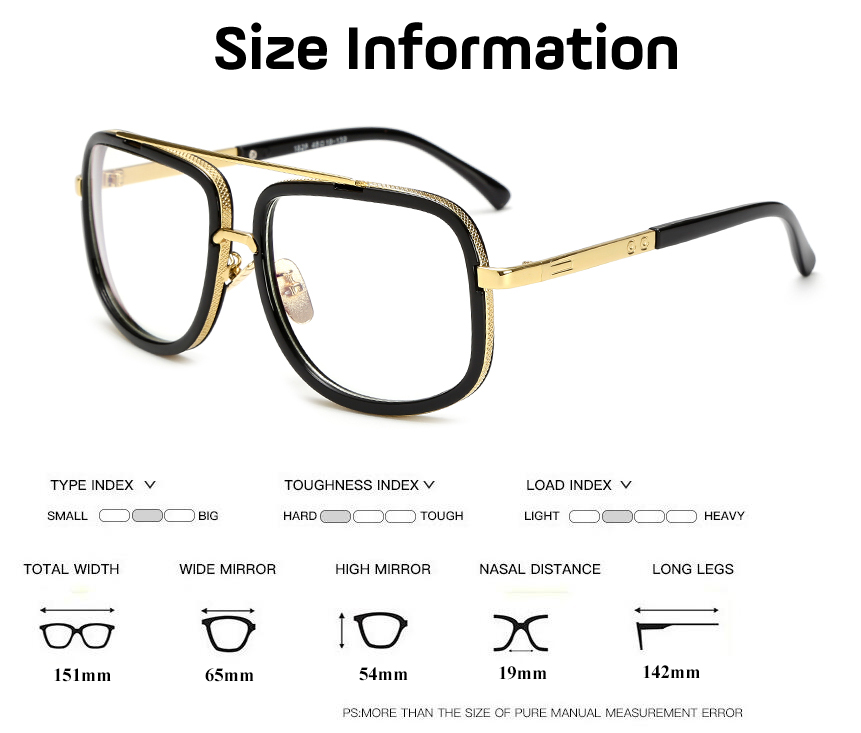 2019 Optical Eyewear Frames Men Clear Lens Eyeglasses Women High Quality Black Square Male Spectacle Glasses Frame E002 in Men 39 s Eyewear Frames from Apparel Accessories