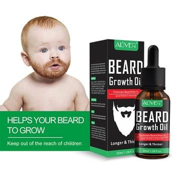NEW Natural Organic Beard Liquid Beard Growth Conditioner Grooming Moisturizing Moustache Care 4