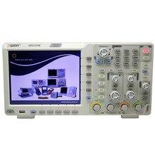 OWON XDS3104E 100 МГц 4CH 8 бит сенсорный экран низкий уровень шума Цифровой осциллограф SCPI IEC RS232 CAN+ сенсорный экран