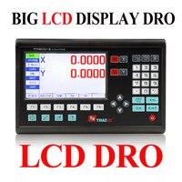 대형 LCD 디스플레이 2 축 Dro 디지털 판독 (DRO) 기계 용
