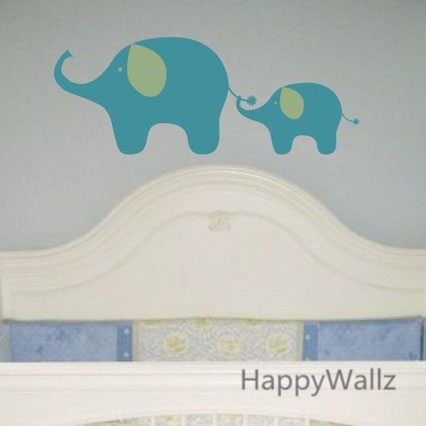 Aliexpress.com : Buy Elephant Wall Sticker DIY Baby Nursery Elephant Wall  Decal Kids Room Easy Wall Art Decorating Children Animal Decors A19 From  Reliable ... Part 83