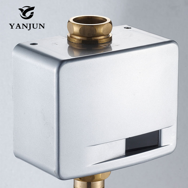 Yanjun automatic toilet flush valve exposed wall mount for Flush with the wall