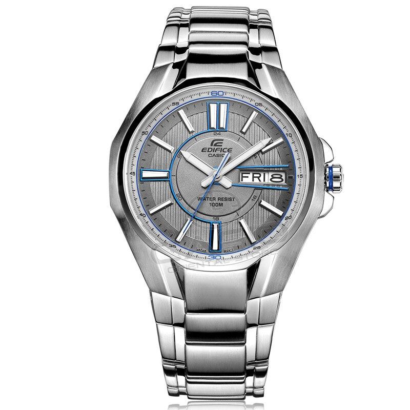 Casio Top Brand Luxury Men's steel Wrist Watch men waterproof Business Quartz watch relogio masculino Clock Male Genuine EF-133 цена и фото