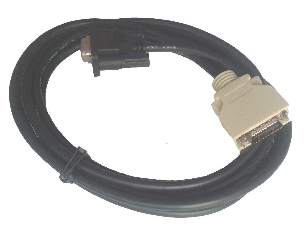 Free Shipping MR-CPCATCB MR-J2S Cable for J2S Servo motor download, 2.5M communication cable for servo drive mr cpcatcbl3m cable mr j2s a